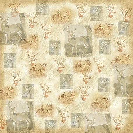 SugarTree - 12 x 12 Paper - Deer