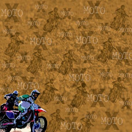SugarTree - 12 x 12 Paper - Motocross