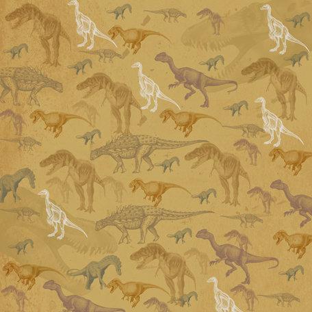 SugarTree - 12 x 12 Paper - Dinosaurs
