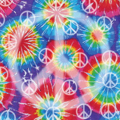 SugarTree - 12 x 12 Paper - Tie Dye Peace