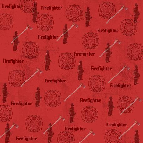 SugarTree - 12 x 12 Paper - Fireman