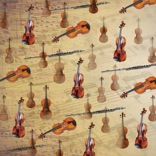 SugarTree - 12 x 12 Paper - Classical Music