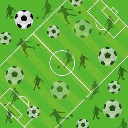 SugarTree - 12 x 12 Paper - Soccer