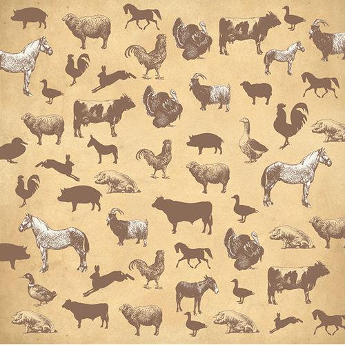 SugarTree - 12 x 12 Paper - Farm Animals II