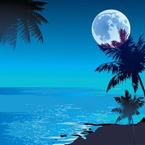 SugarTree - 12 x 12 Paper - Tropical Moon