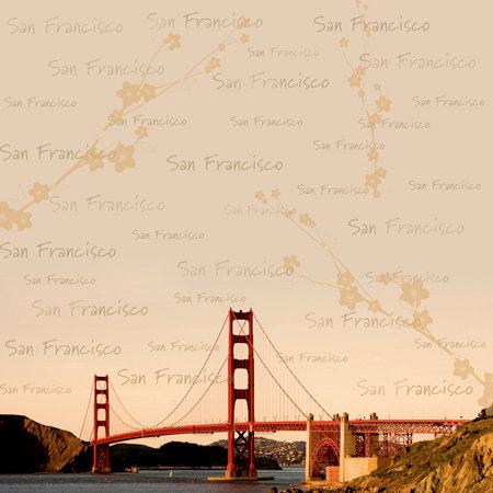 SugarTree - 12 x 12 Paper - San Francisco