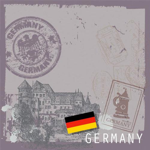 SugarTree - 12 x 12 Paper - Germany II