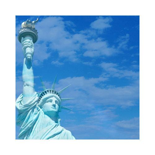 SugarTree - 12 x 12 Paper - Statue of Liberty