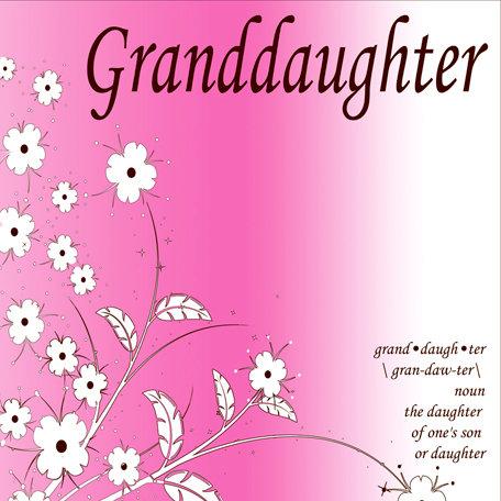 SugarTree - 12 x 12 Paper - Granddaughter