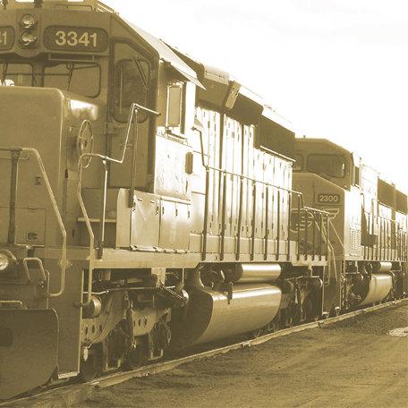 SugarTree - 12 x 12 Paper - Train