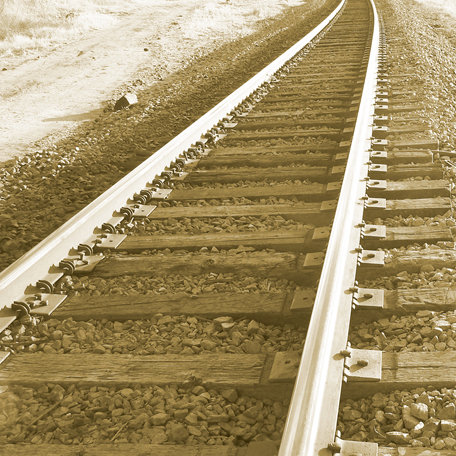 SugarTree - 12 x 12 Paper - Train Tracks