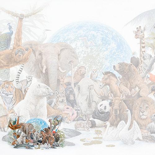 SugarTree - 12 x 12 Paper - Zoo Animals