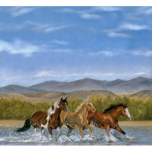 SugarTree - 12 x 12 Paper - Horses Footloose