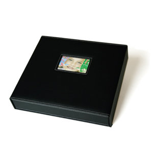 Scrapworks Anthologie Bay Box Album 12 X 12 Black Leather