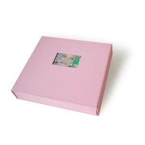 Scrapworks Anthologie Bay Box Album 12x12 Pink Fabric