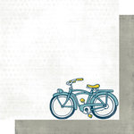 Scrap Within Reach - Paper Boy Collection - 12 x 12 Double Sided Paper - Paper Route