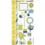 Scrap Within Reach - Paper Boy Collection - Stickers - Elements