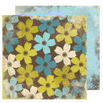 Scrap Within Reach - The Cottage Collection - 12 x 12 Double Sided Paper - Woodland
