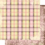 Scrap Within Reach - Afternoon Tea Collection - 12 x 12 Double Sided Paper - English Breakfast, CLEARANCE