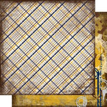 Scrap Within Reach - Industrial Collection - 12 x 12 Double Sided Paper - Historic District