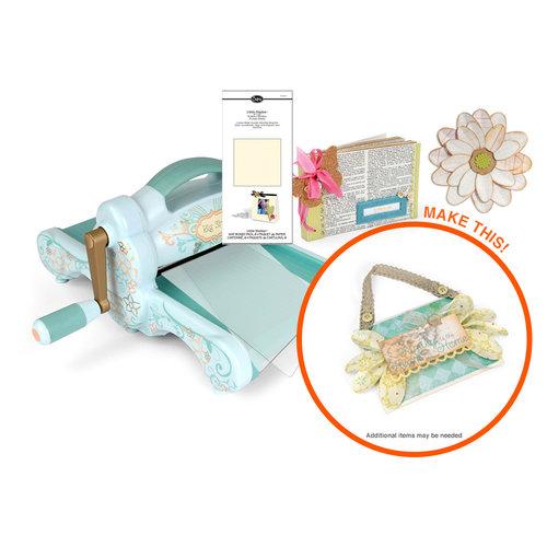Sizzix - Big Shot Machine - Floral Mini Album Die Kit (Scrapbook.com Exclusive)