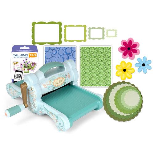 Sizzix - Big Shot Machine - Talking Tag Modern Spring Die Kit (Scrapbook.com Exclusive)