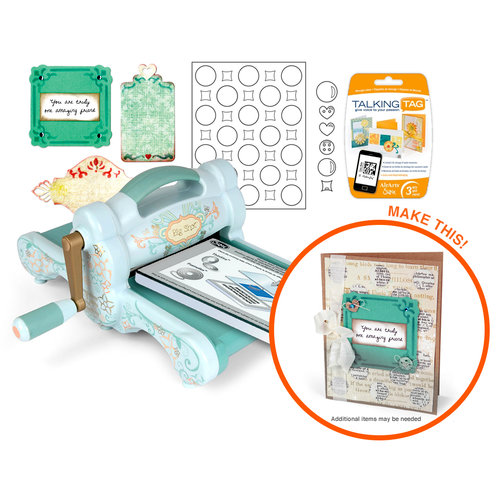 Sizzix - Big Shot Machine - Thinlits Card Making Die Kit (Scrapbook.com Exclusive)