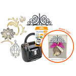 Sizzix - SophistiCut Machine - Beautiful Card Originals Die Kit (Scrapbook.com Exclusive)