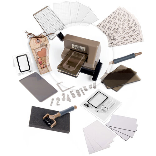 Sizzix - Tim Holtz - Alterations Collection - Sidekick - Ultimate Kit - 49 Piece Bundle