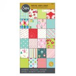 Sizzix - Christmas - 6 x 12 Paper Pad - Merry and Bright