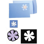 Sizzix - Movers and Shapers Die - Die Cutting Template - Flower, CLEARANCE