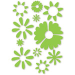 Sizzix - Simple Impressions - Embossing Folder - Daisies Texture