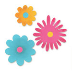Sizzix - Originals Die - Die Cutting Template - Large - Flower Layers 3