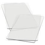 Sizzix - Cutting Pads - Standard - 2 Pair 4 Plates - Clear