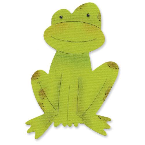 Sizzix - Sizzlits Die - Die Cutting Template - Medium - Frog