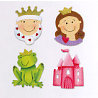 Sizzix - Sizzlits Die - Die Cutting Template - 4 Pack - Small - Fairy Tales Set, CLEARANCE