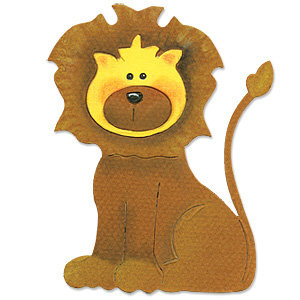 Sizzix - Originals Die - Die Cutting Template - Lion