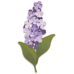 Sizzix - Originals Die - Die Cutting Template - Large - Flower Build a Lilac, CLEARANCE