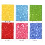 Sizzix - Texturz - Texture Plates - Kit 6