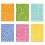 Sizzix - Texturz - Texture Plates - Kit 7