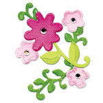 Sizzix - Originals Die - Die Cutting Template - Flowers and Vines
