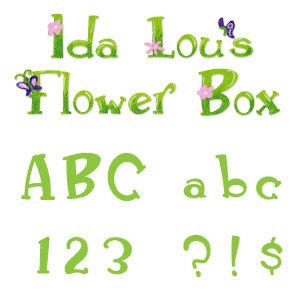 sizzix sizzlits die die cutting template alphabet set 12