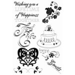 Sizzix - Clear Stamps - Wedding Essentials, CLEARANCE