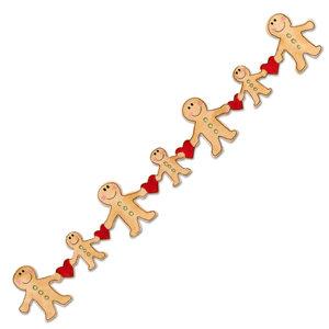 Sizzix Sizzlits Decorative Strip Die Christmas Collection Die
