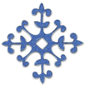 Sizzix - Bigz Die - Christmas Collection - Die Cutting Template - Snowflake, CLEARANCE