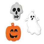 Sizzix - Sizzlits Die - Die Cutting Template - 3 Pack - Small - Halloween Charms Set, CLEARANCE