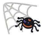 Sizzix - Bigz Die - Die Cutting Template - Halloween - Spider and Spiderweb