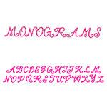 Sizzix - Sizzlits Decorative Strip Die - Die Cutting Template - Alphabet Monograms, CLEARANCE