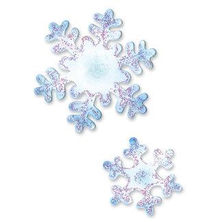 Sizzix - Sizzlits Die - Die Cutting Template - Medium - Snowflakes