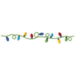 Sizzix - Sizzlits Decorative Strip Die - Christmas Collection - Die Cutting Template - Christmas Lights